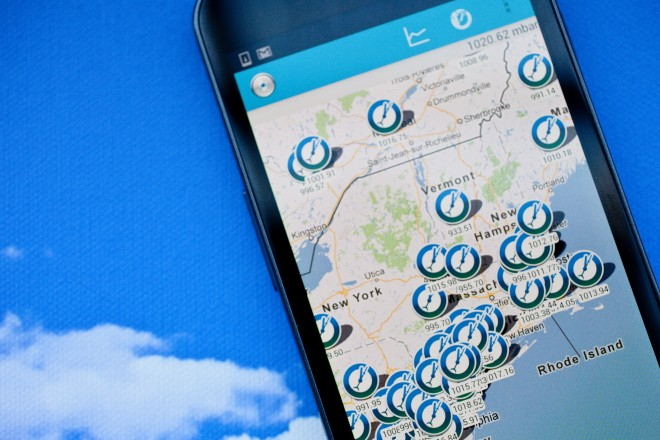 20130103 PRESSURE NET APP 019edit 660x440 - Android App that Helps Predict the Weather