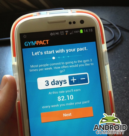 gympact 540 - GymPact App Now Available on Google Play Store