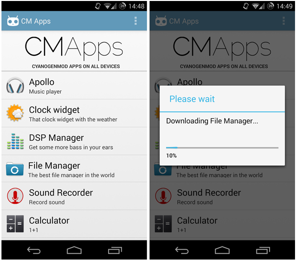 How to Install CyanogenMod Apps on Any Android Device Without Rooting