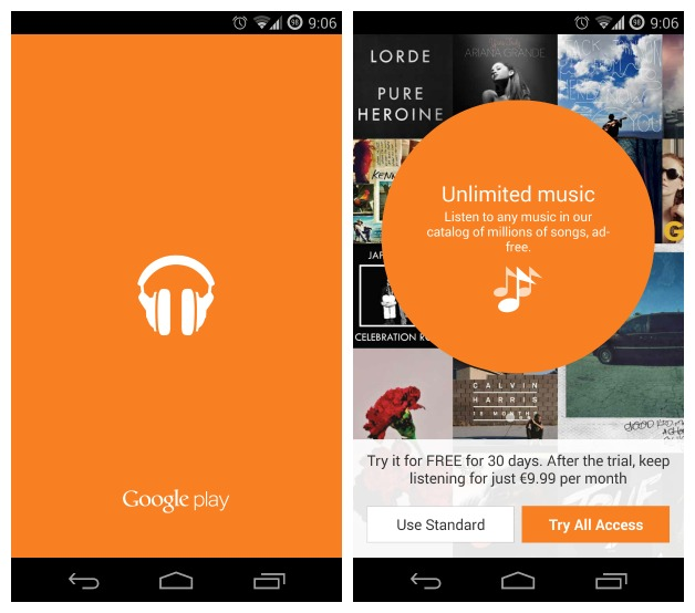 AndroidPIT Play Music All Access - How to download music from Google Play