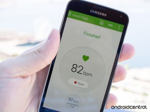 Heart Rate Monitor Galaxy S5 androidability 300x225 - How to use the Heart Rate Monitor on the Galaxy S5