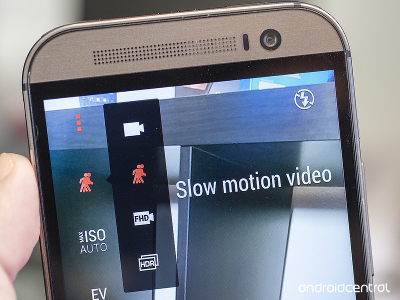 How to take and edit slow-motion video on the HTC One M8