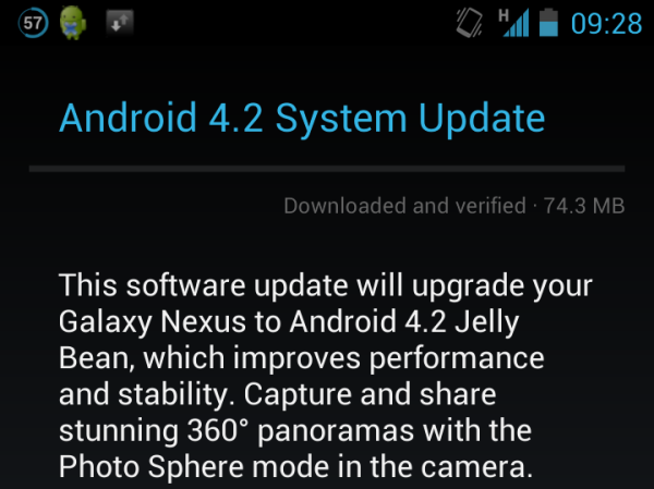Android 4.2 Jelly Bean update small androidability - How to update your Android smartphone or tablet: Get the latest software on your phone or tablet