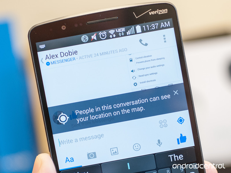 facebook permissions 5 androidability - How to keep Facebook Messenger from sharing your location