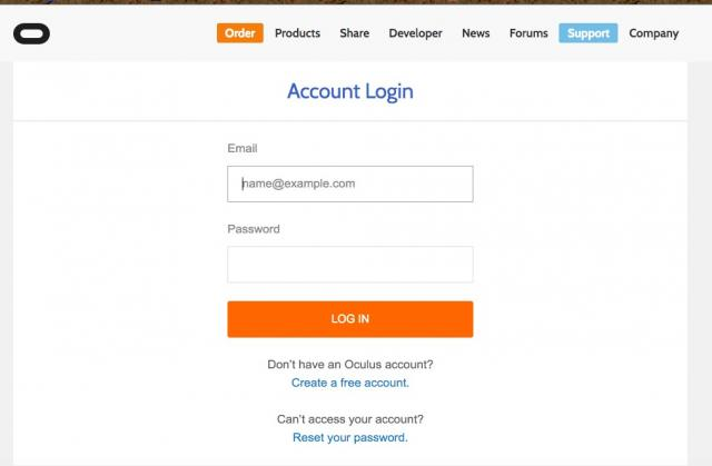 Getting Oculus Android App, Create And Login To Account On