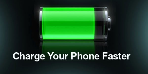 5 Tips to charge your android battery faster