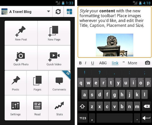wordpress android - 15 Android Apps Every Blogger Should Have