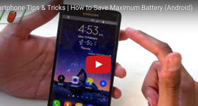 Smartphone Tips & Tricks | How to Save Maximum Battery (Android)