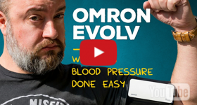 First look at Omron Evolv: Smart blood pressure tracking on Android