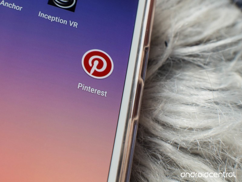 pinterest - Pinterest for Android now works with Nougat's app shortcuts