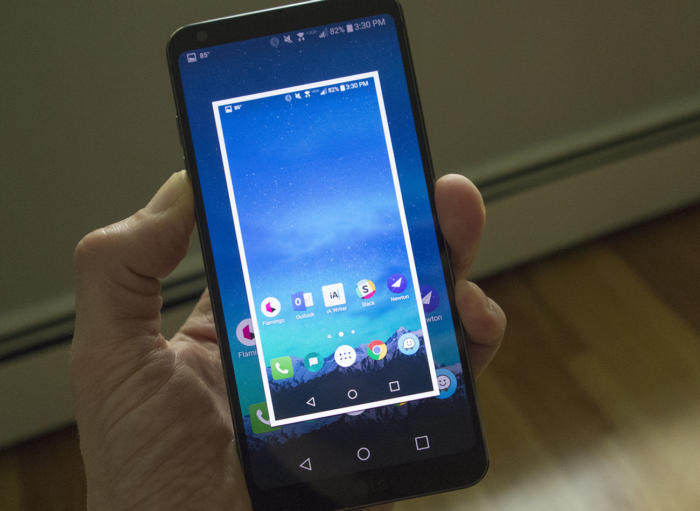 lg g6 screenshot 100728814 large - How to take a screenshot on any Android phone